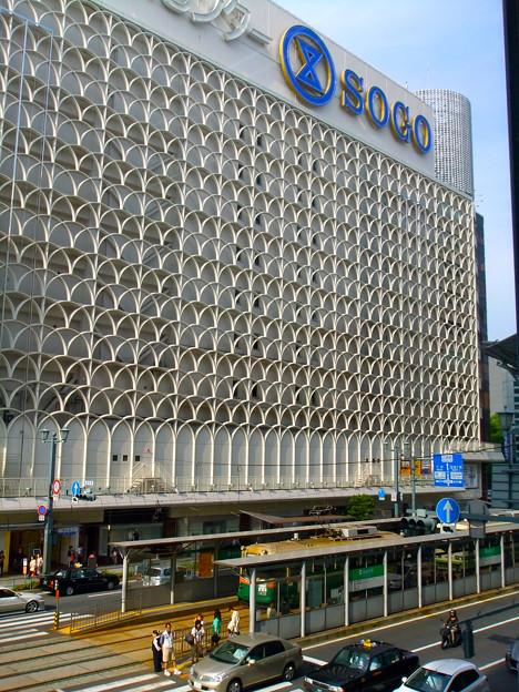 広島電鉄 紙屋町西電停 Kamiya-cho-nishi Station そごう広島店 広島市中区基町