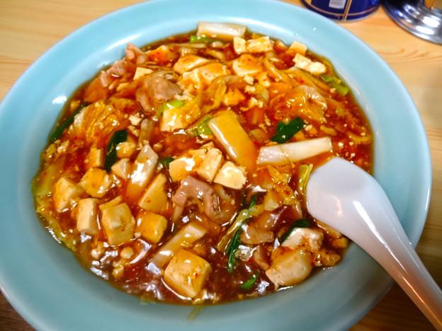 中華料理 八宝飯店 麻婆丼 広島市南区上東雲町