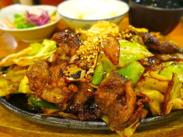 鉄板焼き ステーキ すき焼き とみや ランチ モーモー鉄板 大盛 広島市中区袋町