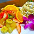 Hawaiian Pancake Factory ハワイアンパンケーキファクトリー イオンモール広島府中店 tropical fruit トロピカルフルーツ 安芸郡府中町大須