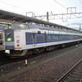 Photos: 小浜線の始発が運休になってしまったので、敦賀で足止め。近江塩津方...