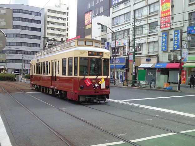 9001、大塚駅前。