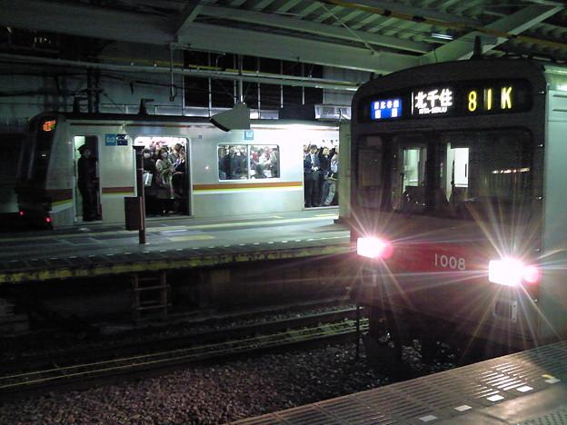 Photos: あと8日で思い出になる東急1000系日比谷線直通と、あと8日で当...