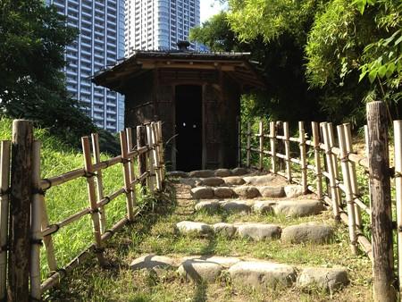 浜離宮 鴨場の小屋