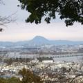 Photos: 茶臼山から琵琶湖を望む