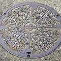 Photos: 大阪府の流域下水道のマンホール