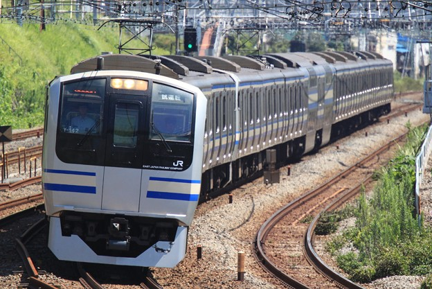 E217系 東海道線内試運転