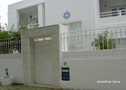 チュニジアの家