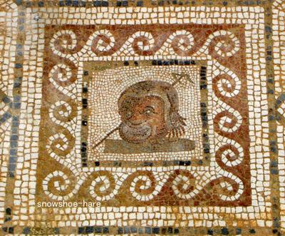 ローマ時代の道化師