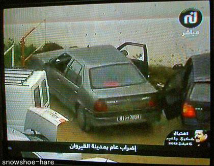 車上荒らしの被害に遭った車
