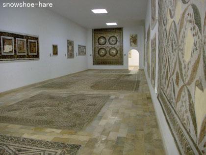 エル・ジェム博物館の展示室1