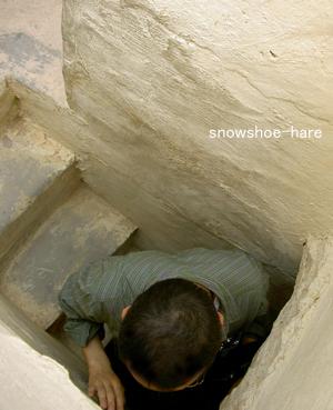 塔の階段狭っ!