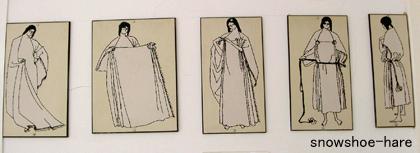 衣装の正しい着方