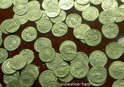 ビザンチン時代の貨幣