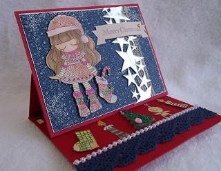 JPAスタンプでクリスマスカード2