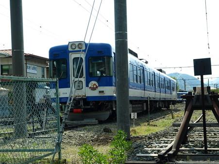河口湖駅にて(11)