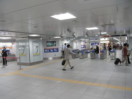 新幹線新横浜駅改札