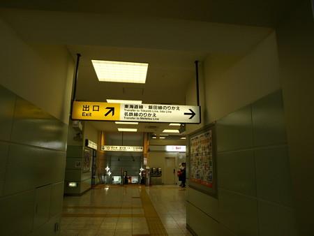 豊橋駅構内1