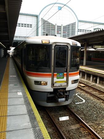 373系特急伊那路1号(豊橋駅)7