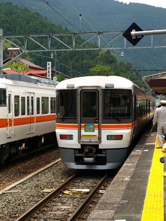 373系特急伊那路2号(中部天竜駅)1