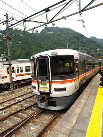 373系特急伊那路1号(中部天竜駅)5