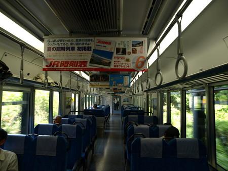 313系飯田線の車内