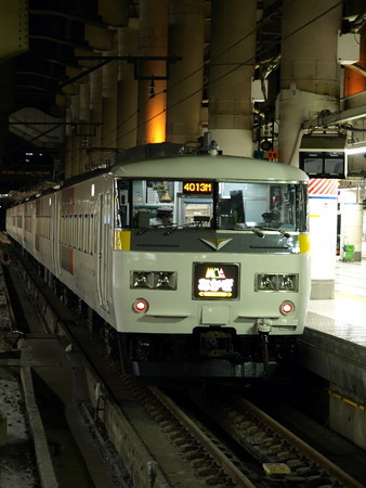 185系(上野駅)