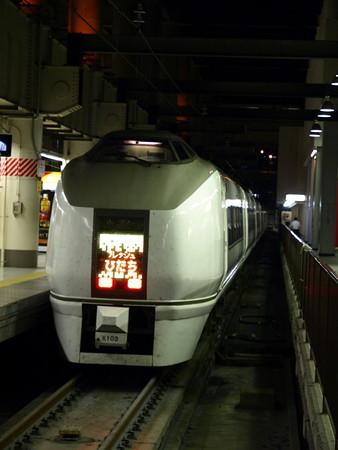651系(上野駅)2