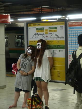寝台特急北陸の車窓(大宮駅)3