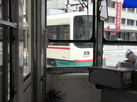 富山市内軌道線車内10
