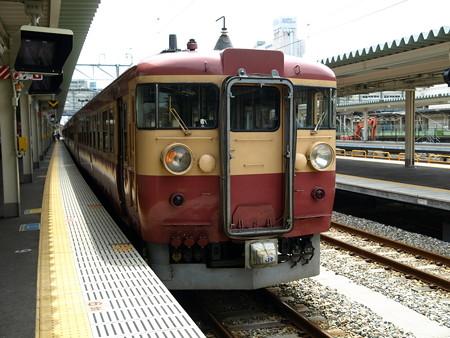475系(富山駅)7