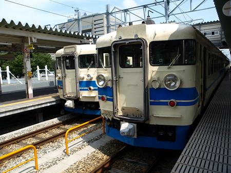 475系と413系(富山駅)1