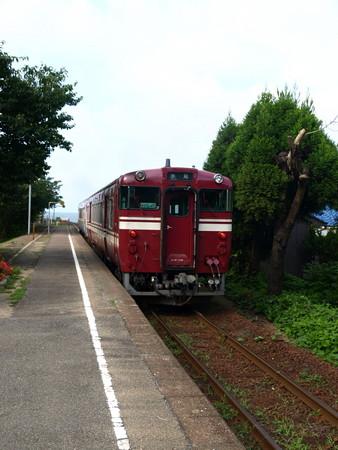キハ40氷見線(越中国分駅)8