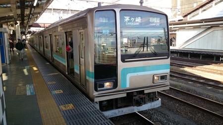 相模線205系(八王子駅)