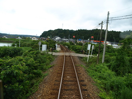 のと鉄道車窓(能登中島→西岸)2