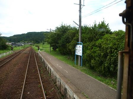 のと鉄道車窓(西岸→能登鹿島)1