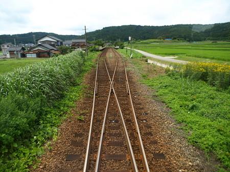 のと鉄道車窓(西岸→能登鹿島)2