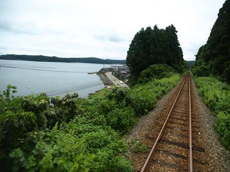 のと鉄道車窓(西岸→能登鹿島)5
