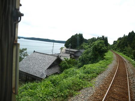 のと鉄道車窓(西岸→能登鹿島)7