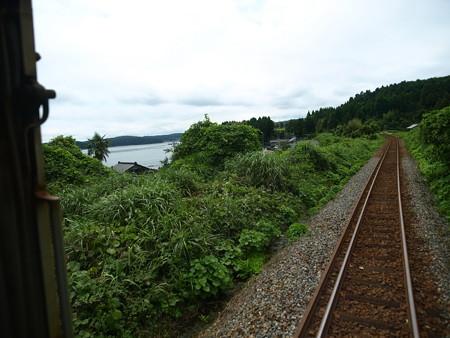 のと鉄道車窓(西岸→能登鹿島)8