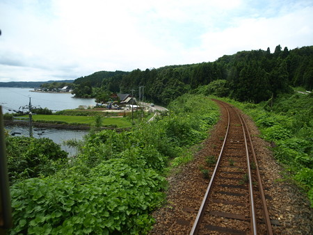 のと鉄道車窓(西岸→能登鹿島)12