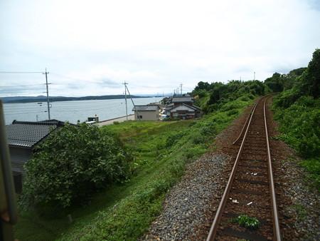 のと鉄道車窓(西岸→能登鹿島)13