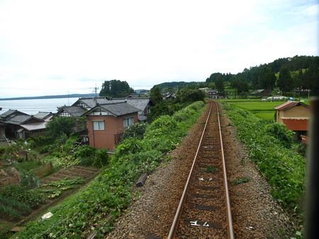 のと鉄道車窓(西岸→能登鹿島)17