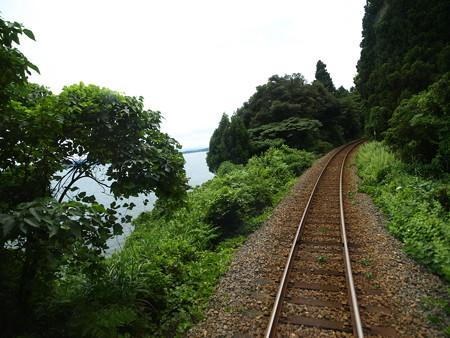のと鉄道車窓(能登鹿島→穴水)9