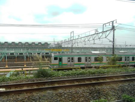 E231湘南新宿ライン車窓9