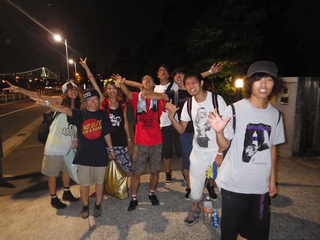 BAYSIDE CRASH 2013@晴海ふ頭
