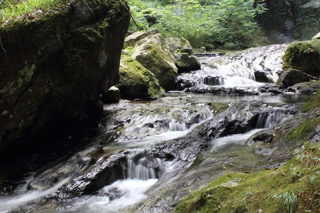 雌滝の下流
