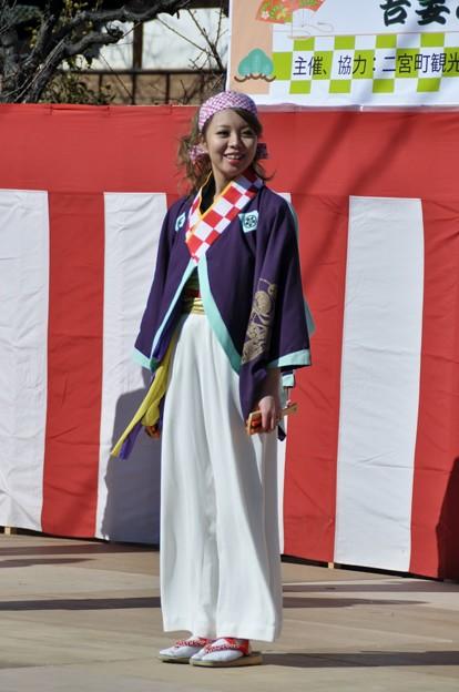 2014-01-19 ニコン 二宮よさこい 菜の花富士山 441