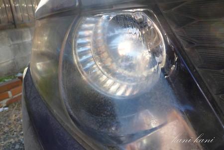オデッセイ RB1 ヘッドライトクリーナー