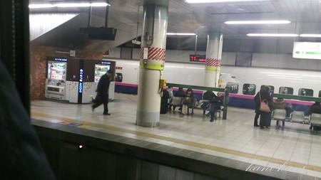 上越新幹線 上野駅